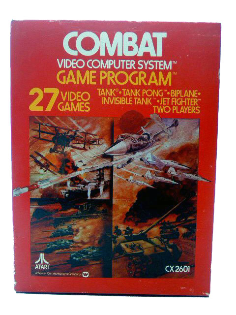 Atari 2600 Combat Complete in Box - 1977