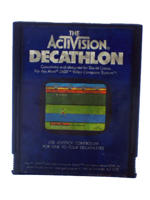 Atari 2600 Decathlon - 1983