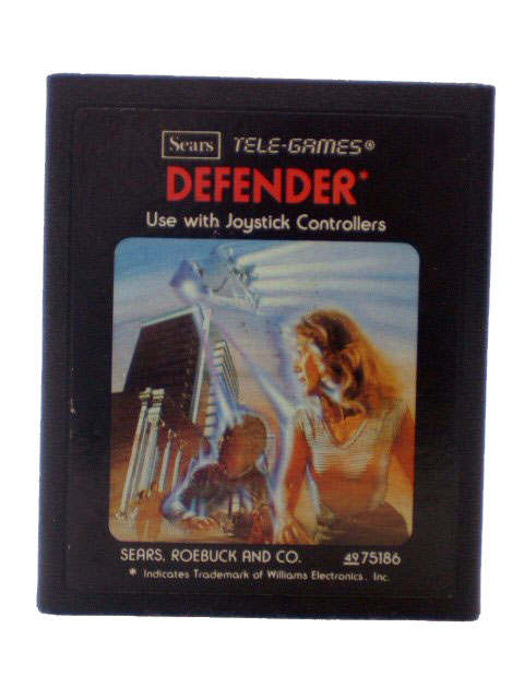 Atari 2600 Defender Red Label - 1982