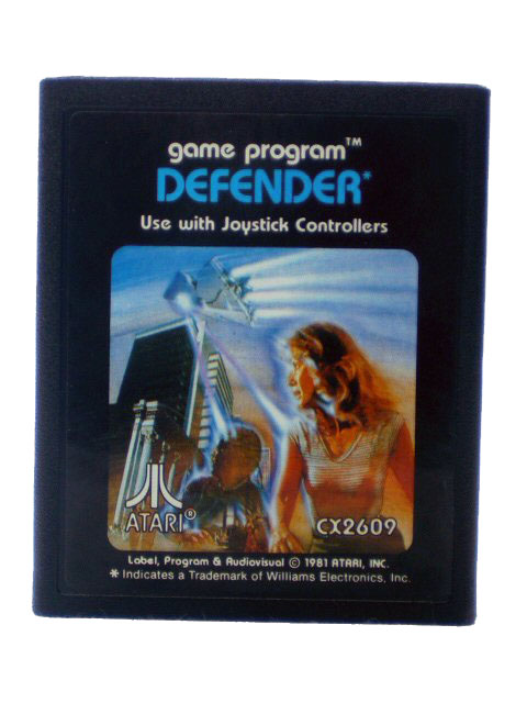 Atari 2600 Defender Blue Label - 1982