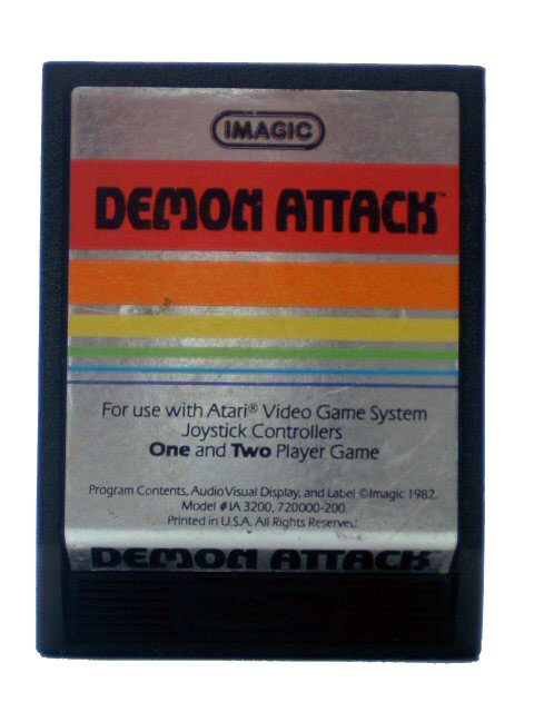 Atari 2600 Demon Attack - 1982