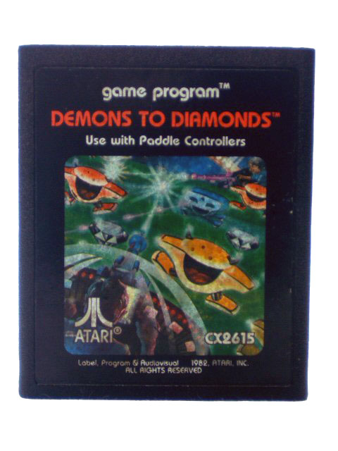 Atari 2600 Demons to Diamonds - 1982