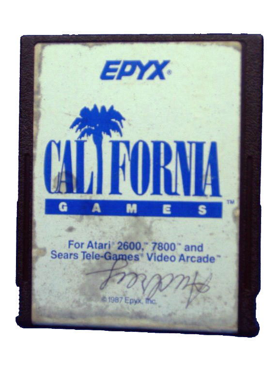 Atari 2600 Epyx California Games - 1988