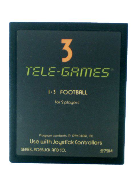 Atari 2600 Football Sears Tele-Games - 1979
