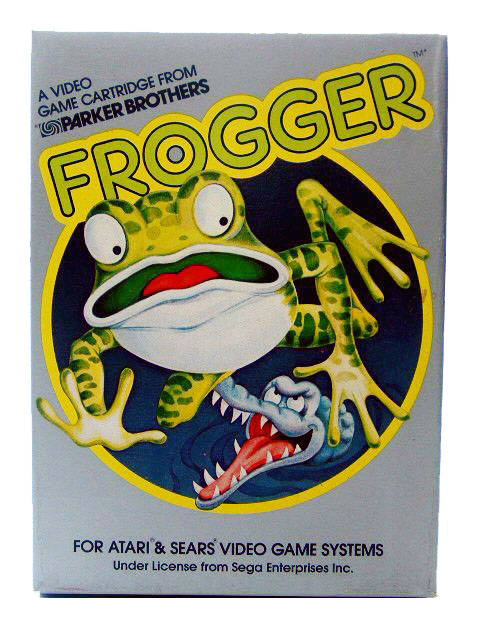 Atari 2600 Frogger Complete in Box - 1983