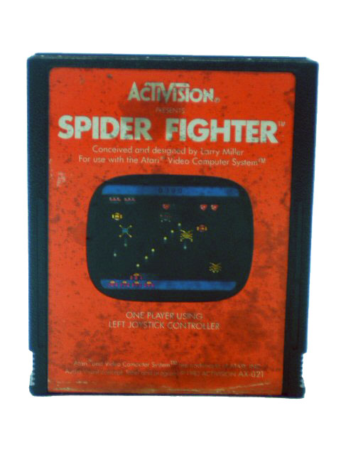 Atari 2600 Spider Fighter - 1982