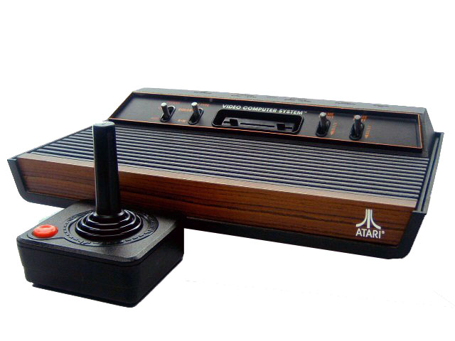 Atari 2600 Video Computer System Wood Complete - 1977