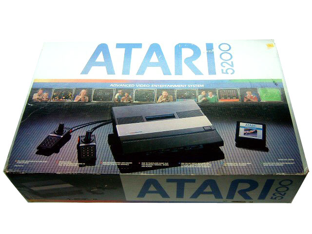 Atari 5200 System Complete in Box - 1982
