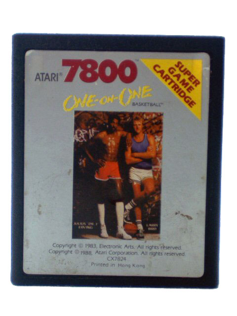 Atari 7800 One-on-One Basketball - 1987