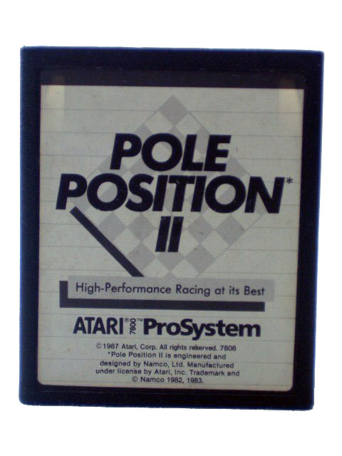 Atari 7800 Pole Position II - 1986