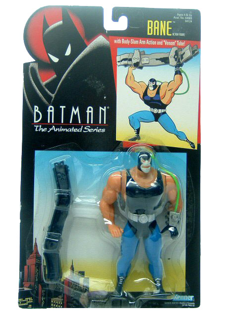 Batman The Animated Series Bane Mint on Card