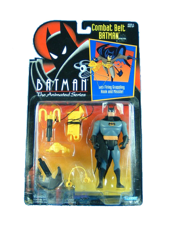 Batman The Animated Series Combat Belt Batman Mint on Card