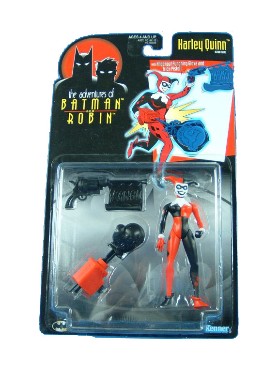 Batman The Animated Series Harley Quinn Mint on Card