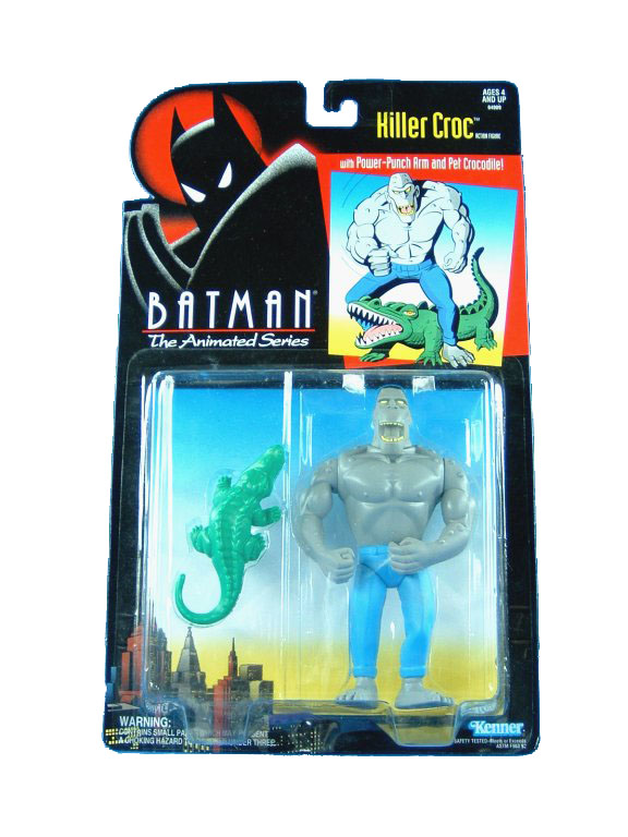 Batman The Animated Series Killer Croc Mint on Card