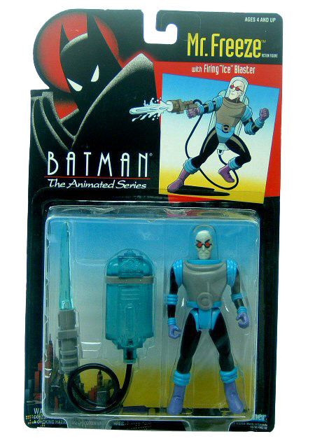 Batman The Animated Series Mr. Freeze Mint on Card
