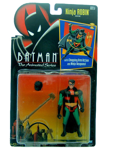 Batman The Animated Series Ninja Robin Mint on Card
