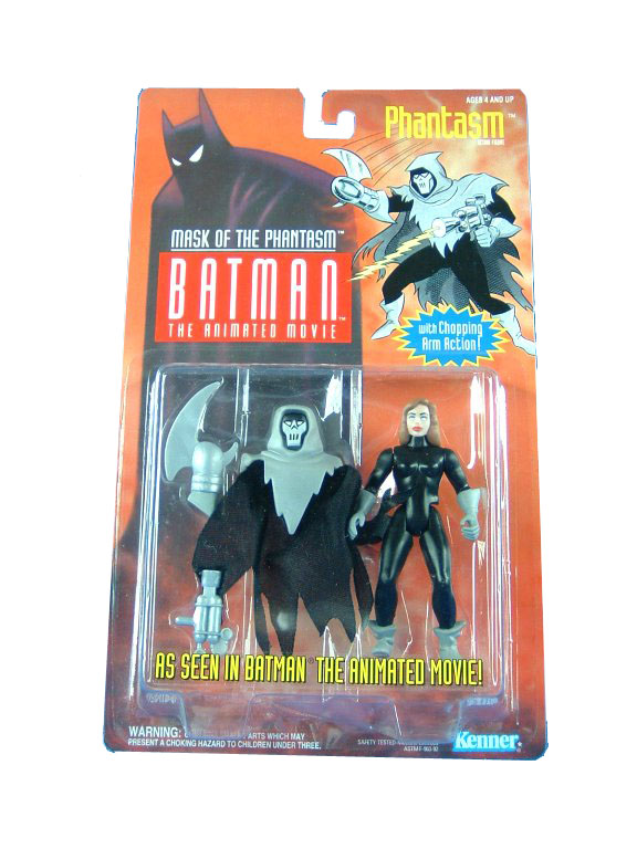 Batman The Animated Series Phantasm Mint on Card