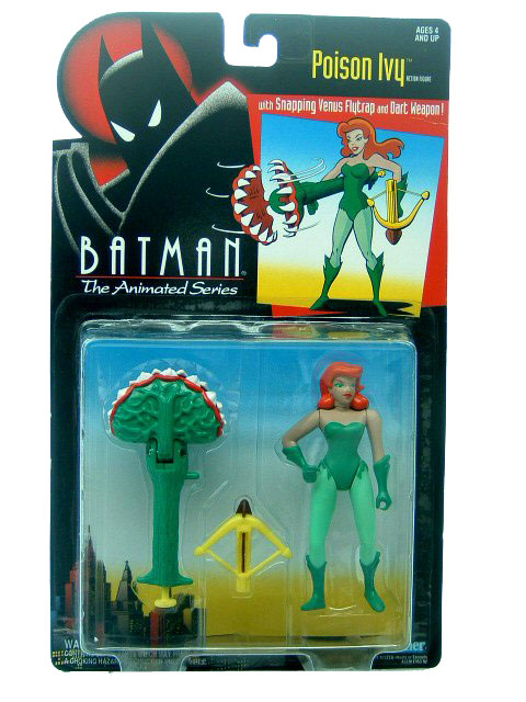 Batman The Animated Series Poison Ivy Mint on Card