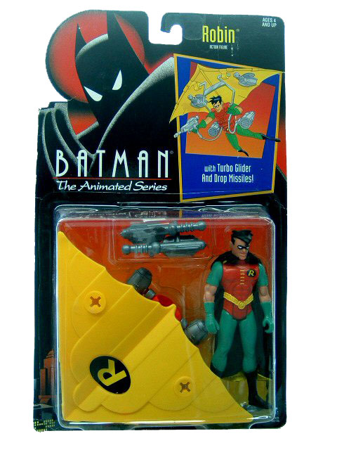 Batman The Animated Series Robin Mint on Card