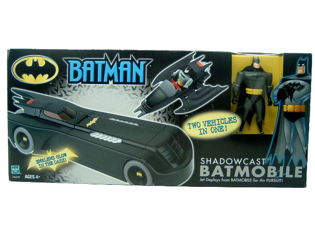 Batman The Animated Series Shadowcast Batmoblie Sealed NEW
