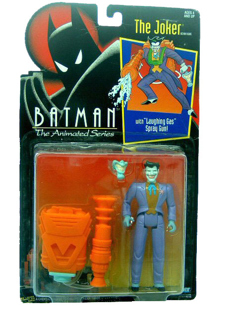 Batman The Animated Series The Joker Mint on Card
