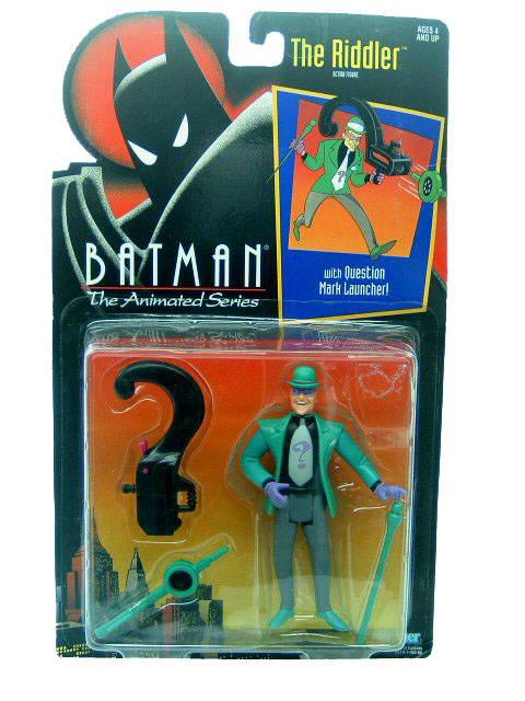 Batman The Animated Series The Riddler Mint on Card