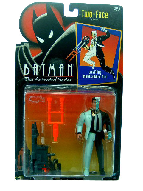 Batman The Animated Series Two Face Mint on Card