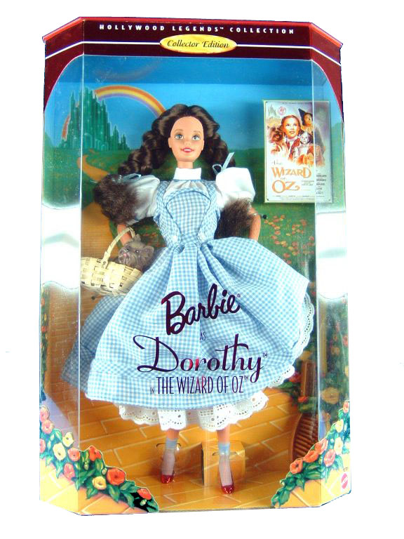 1995 Hollywood Legends Dorothy The Wizard Of Oz Barbie Sealed
