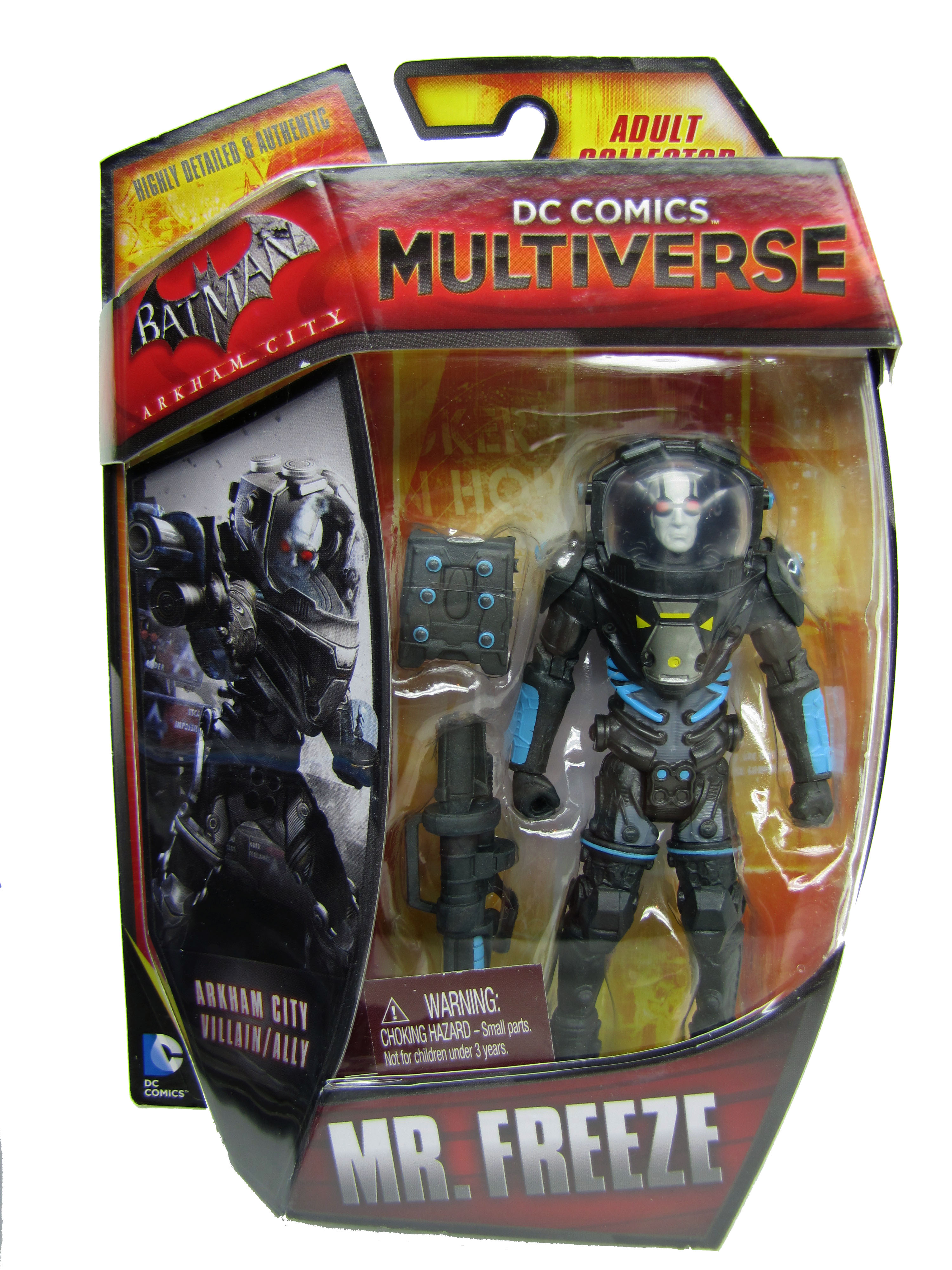 DC Comics Multiverse Batman Arkham City Mr. Freeze Mint on Card