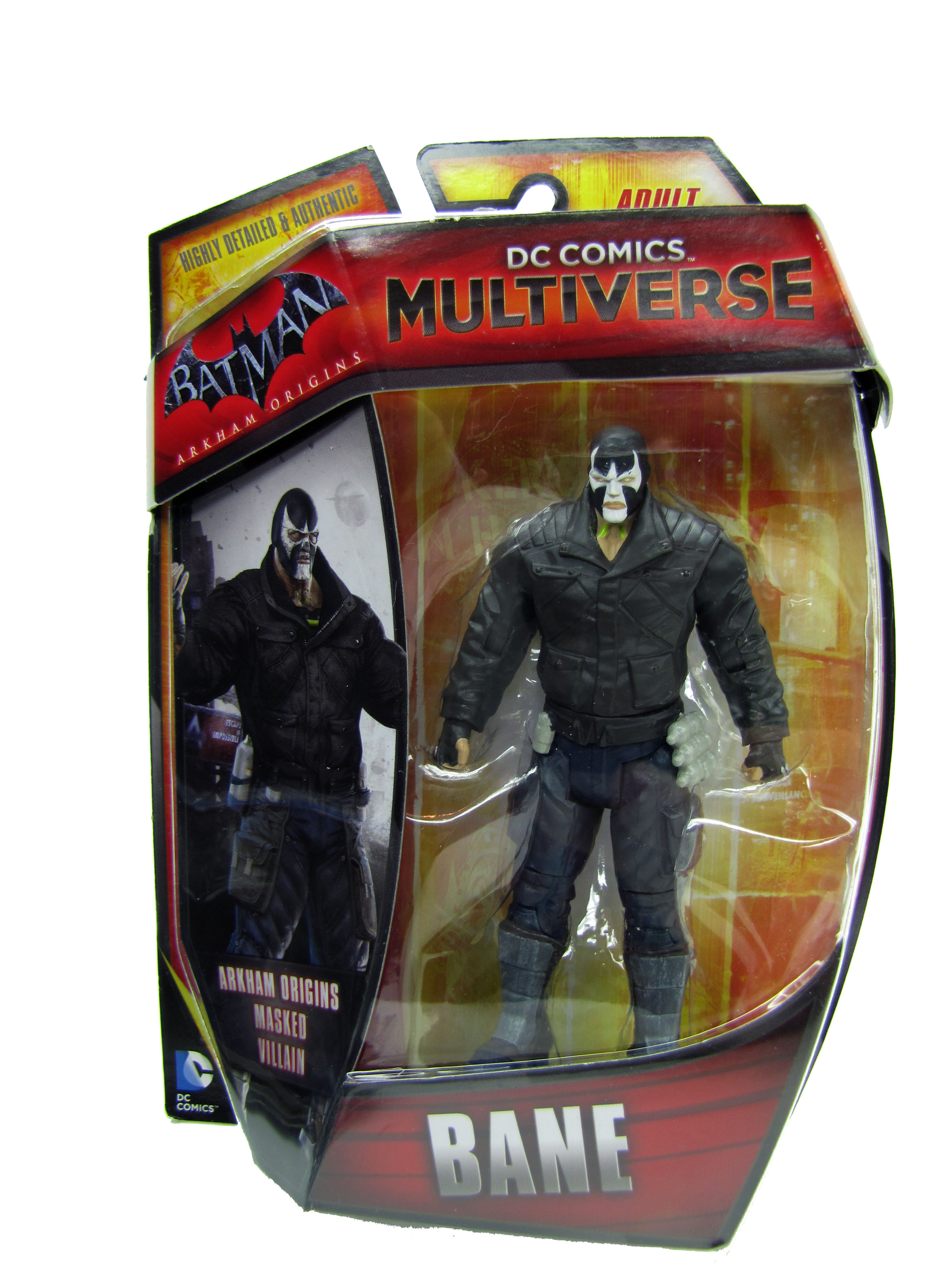 DC Comics Multiverse Batman Arkham Origins Bane Mint on Card