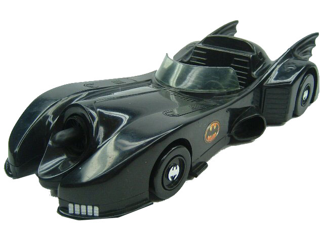 1989 Toy Biz BATMAN Collection BATMOBILE Complete