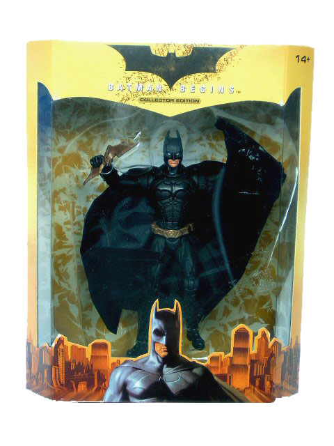 Batman Begins European Exclusive Batman Sealed Mint in Box