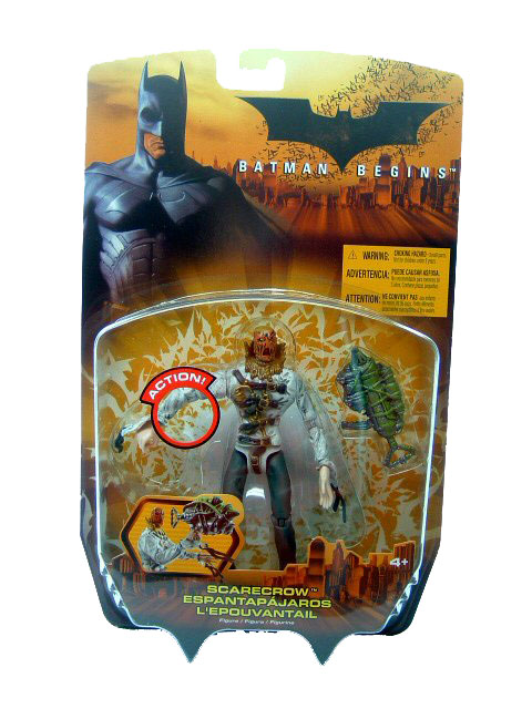 Batman Begins Scarecrow Sealed Mint on Card