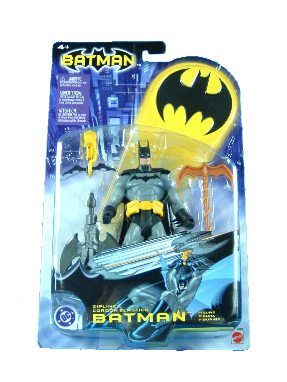 DC Super Heroes Zipline Batman Sealed Mint on Card