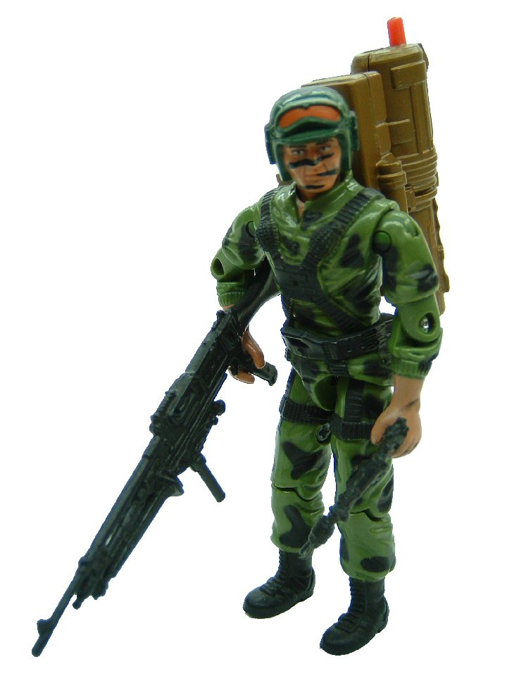 GIJoe Brazil Comandos em Ação Alpinista Hit and Run Complete