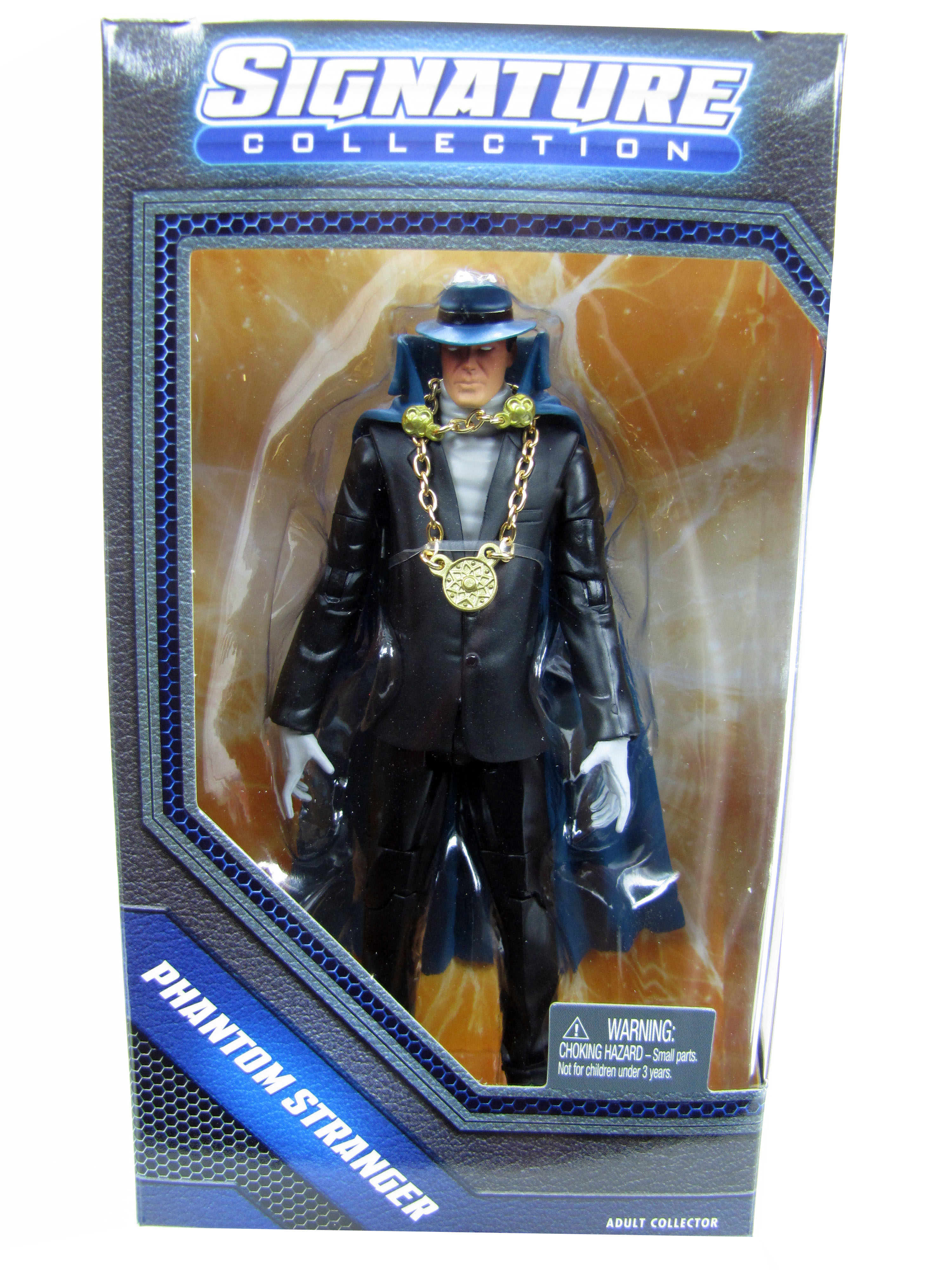 DC Universe Classics Club Infinite Earths Phantom Stranger Seale