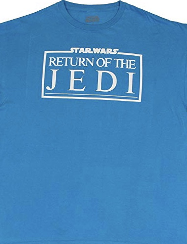 Star Wars Return Of The Jedi Logo Official Licensed Turquoise T-Shirt XL