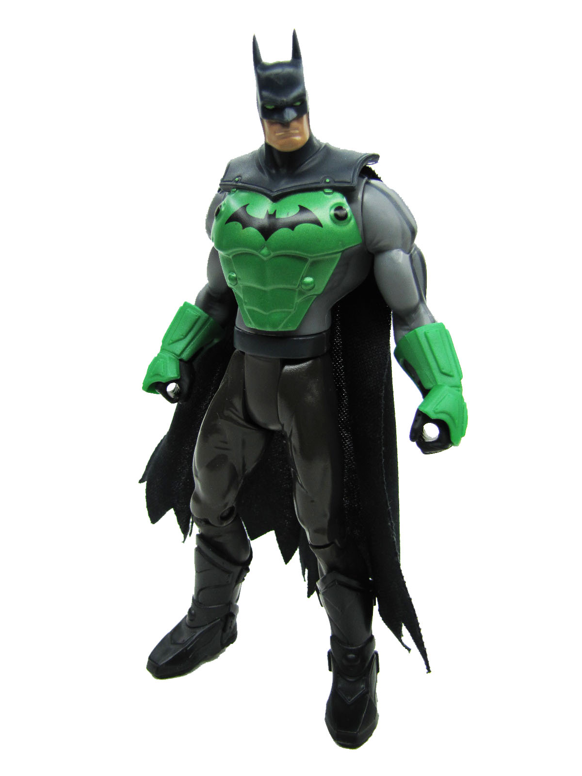 2003 Batman DC Super Heroes BRUCE WAYNE TO CROCODILE ARMOR BATMAN Complete