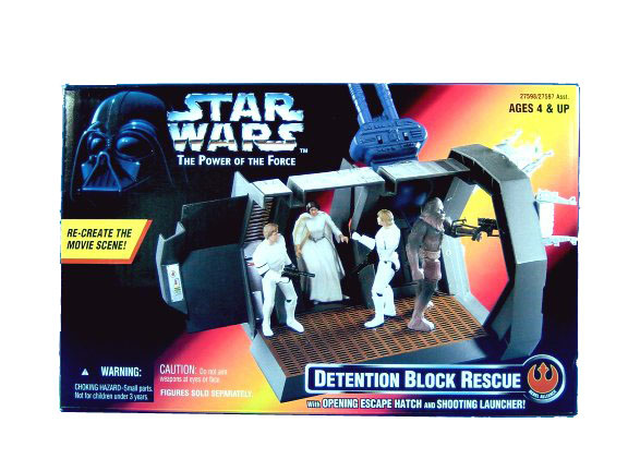 1996 Star Wars POTF2 DETENTION BLOCK RESCUE Sealed