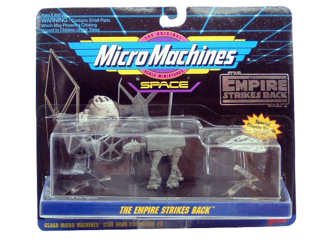 Star Wars Micro Machines Empire Strikes Back Collection 2 Sealed