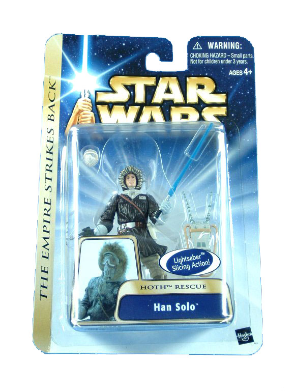 2003 Star Wars Saga HAN SOLO Hoth Rescue Sealed Mint on Card