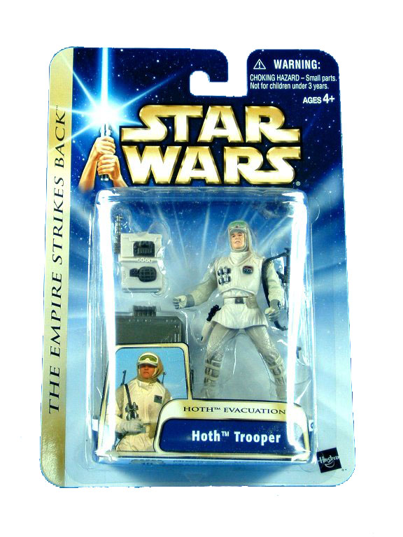 2003 Star Wars Saga HOTH TROOPER Hoth Evacuation Sealed MOC