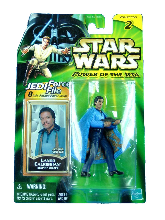 2001 Star Wars Power of the Jedi LANDO CALRISSIAN BESPIN ESCAPE
