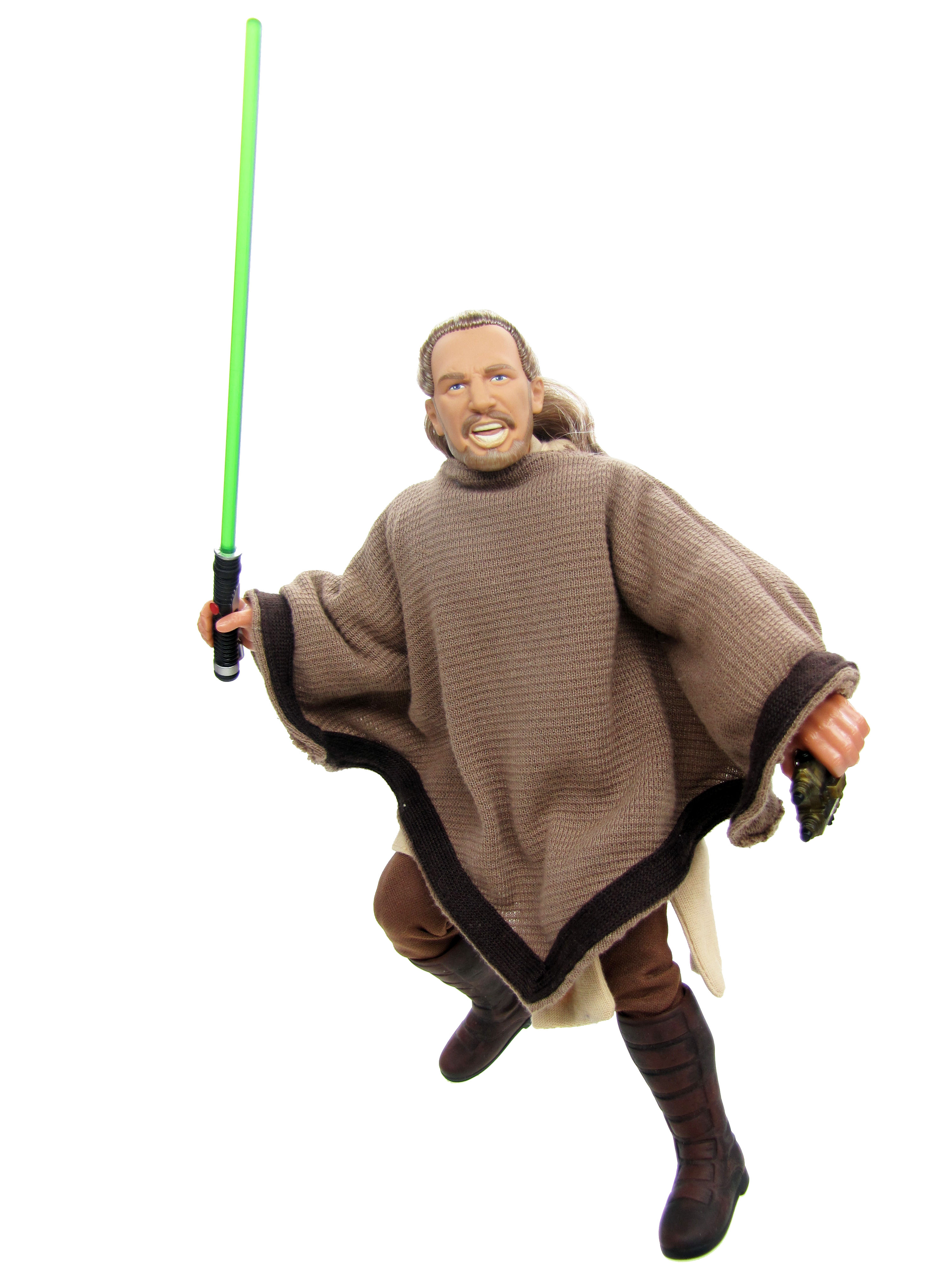 "Star Wars Episode I The Phantom Menace 12"" Qui Gon Jinn Poncho"