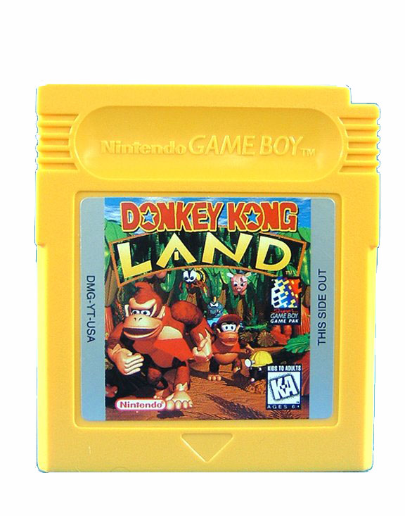 Game Boy Donkey Kong Land - 1995