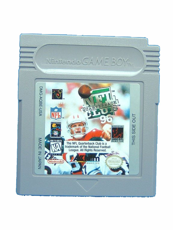 Game Boy NFL Quarterback Club '96 - 1995