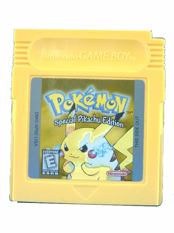 Game Boy Pokemon: Yellow Version Special Pikachu Edition - 1999