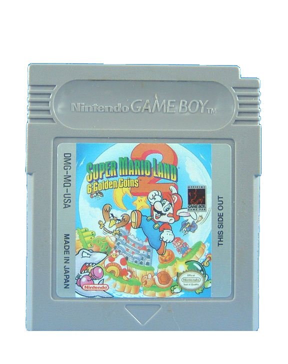 Game Boy Super Mario Land 2: 6 Golden Coins - 1992