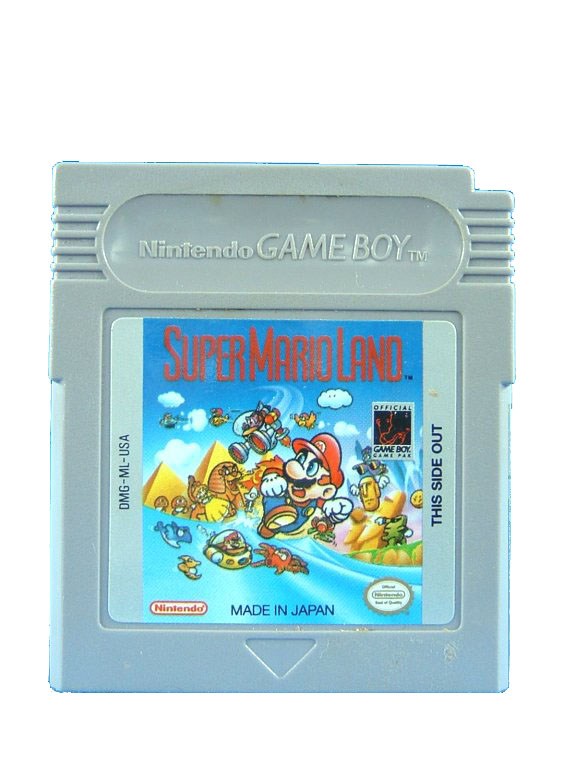 Game Boy Super Mario Land - 1989