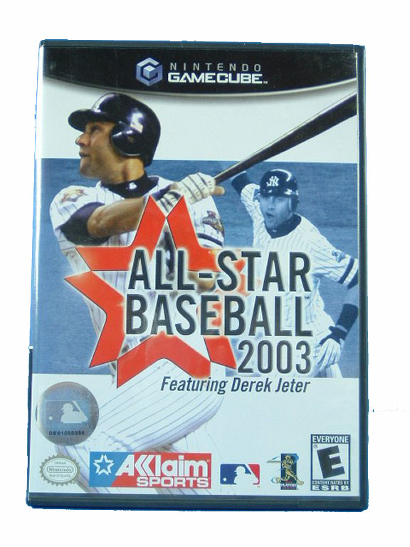 Game Cube All Star Basebal 2003 Complete - 2002